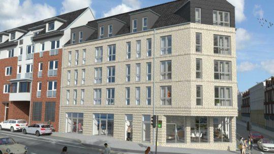 Das Köring-Haus in der Sailing-City - Wohn und Geschäftshaus in Kiel