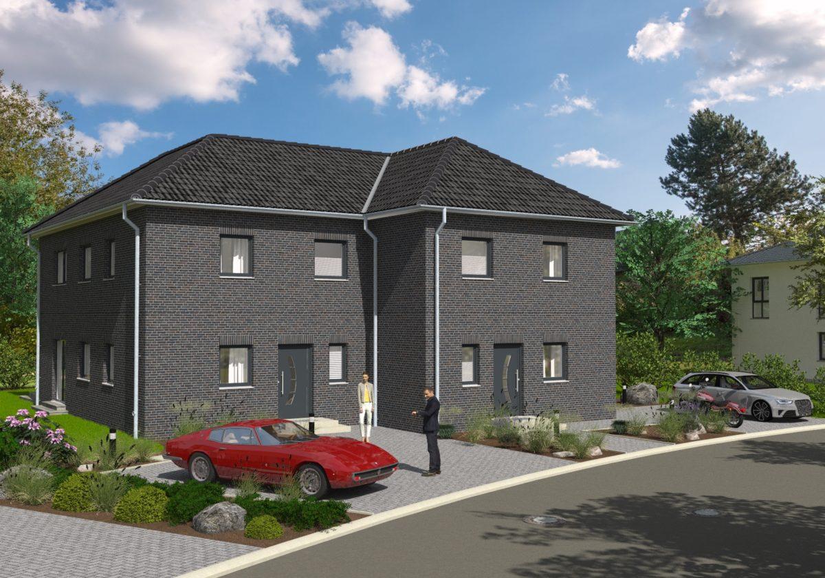 Neubau von sechs Doppelhaushälften Poggenbarg , 24226 Heikendorf
